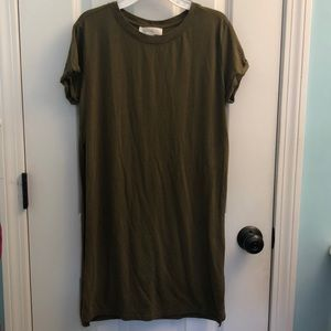 Long Cut Out Tee